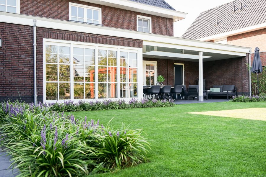 Moderne villa door aannemer regio Den Bosch