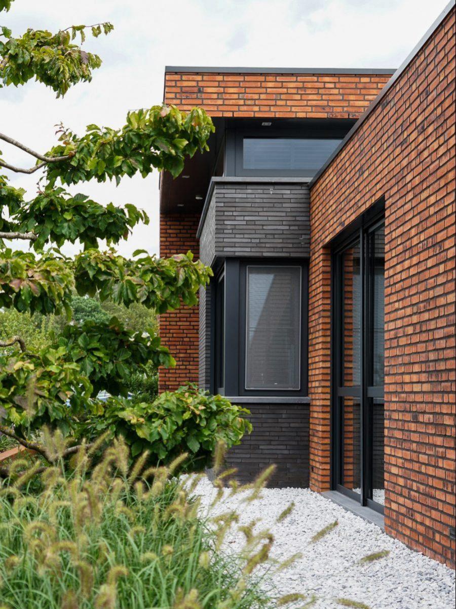 Moderne villa door aannemer