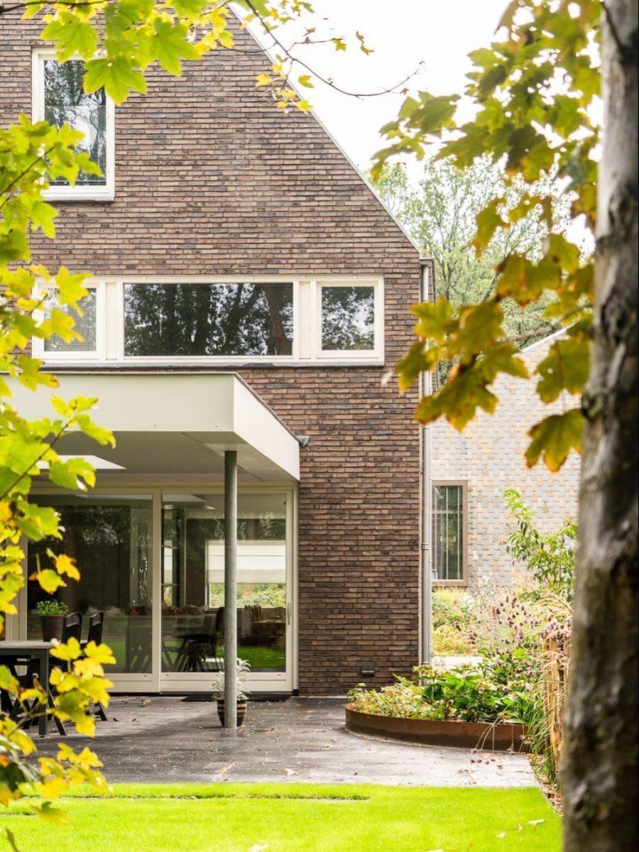 Moderne villa door aannemer Uden