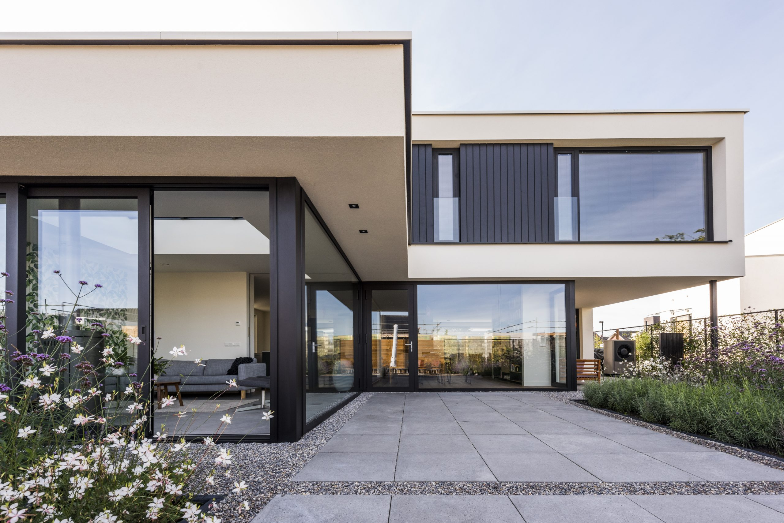 luxe kubistische woning