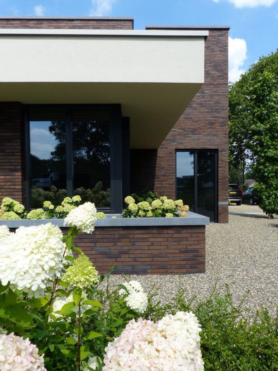 voorbeeld luxe kubistische woning