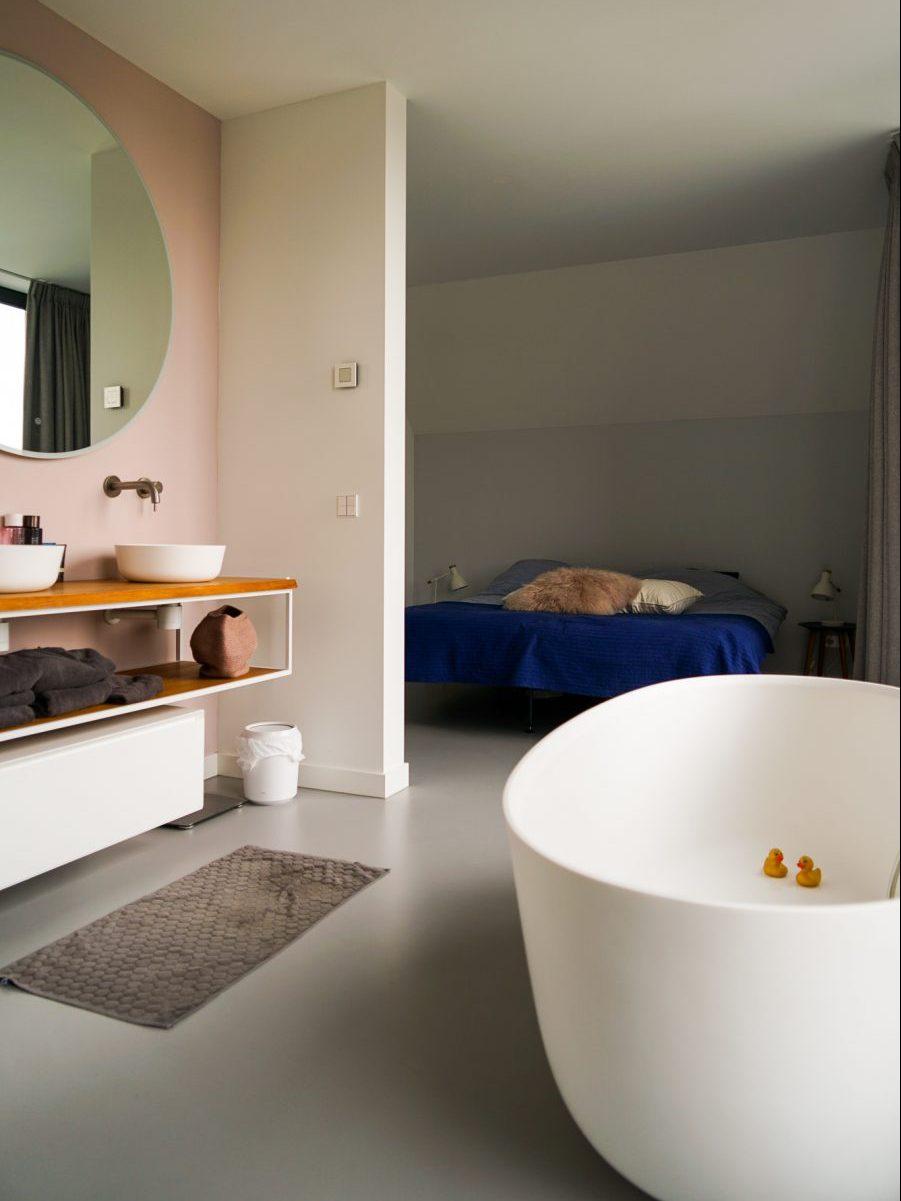 Badkamer in moderne woning