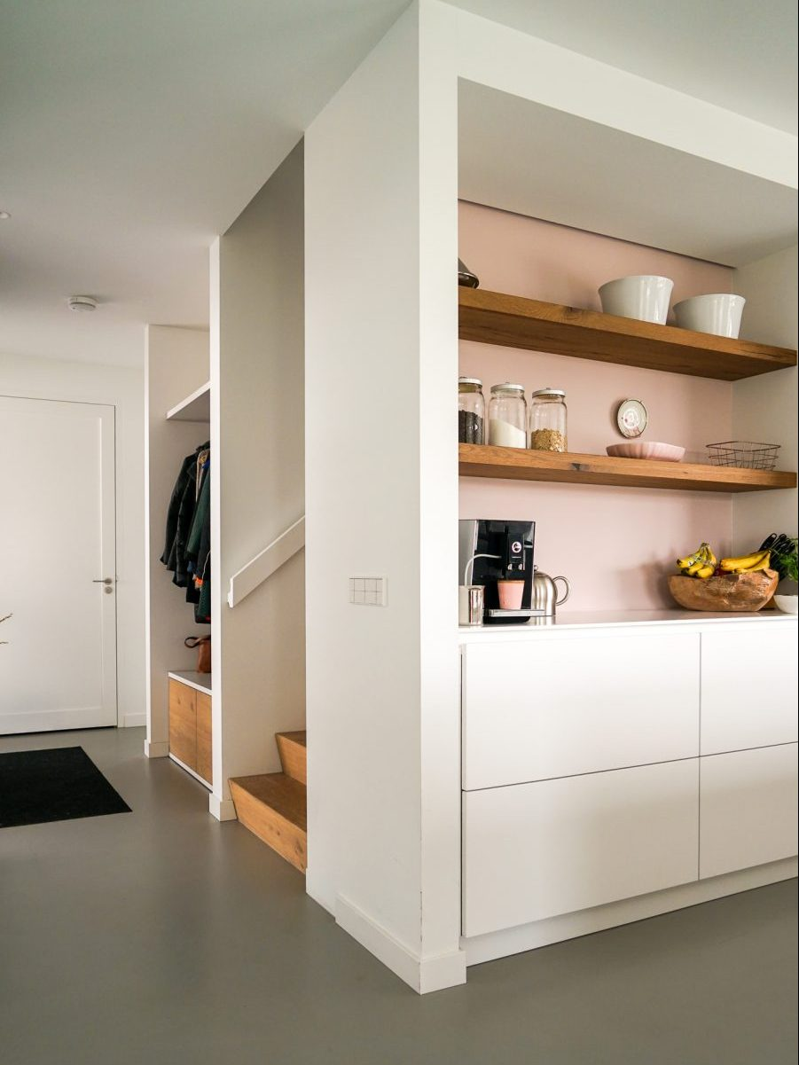 Keuken in moderne villa