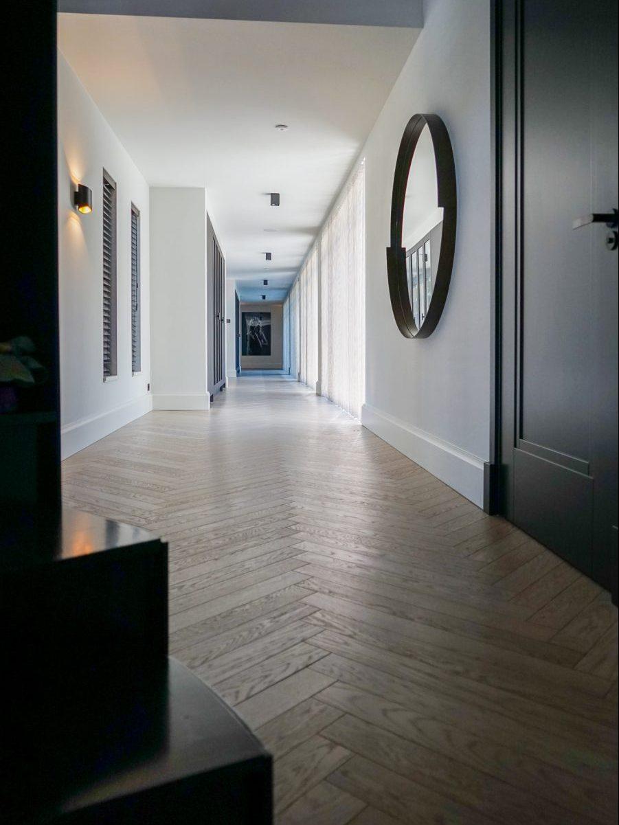 Villa met corridor