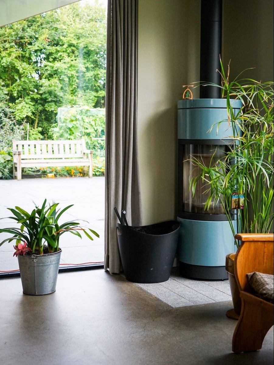 Sfeer in duurzame woning