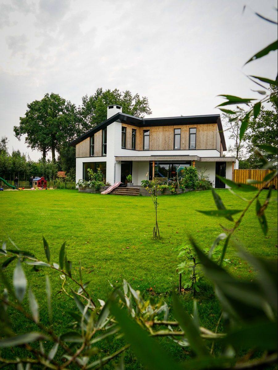 Duurzaam moderne woning
